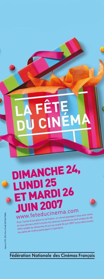 La Fête du Cinéma 2007 - Affiche