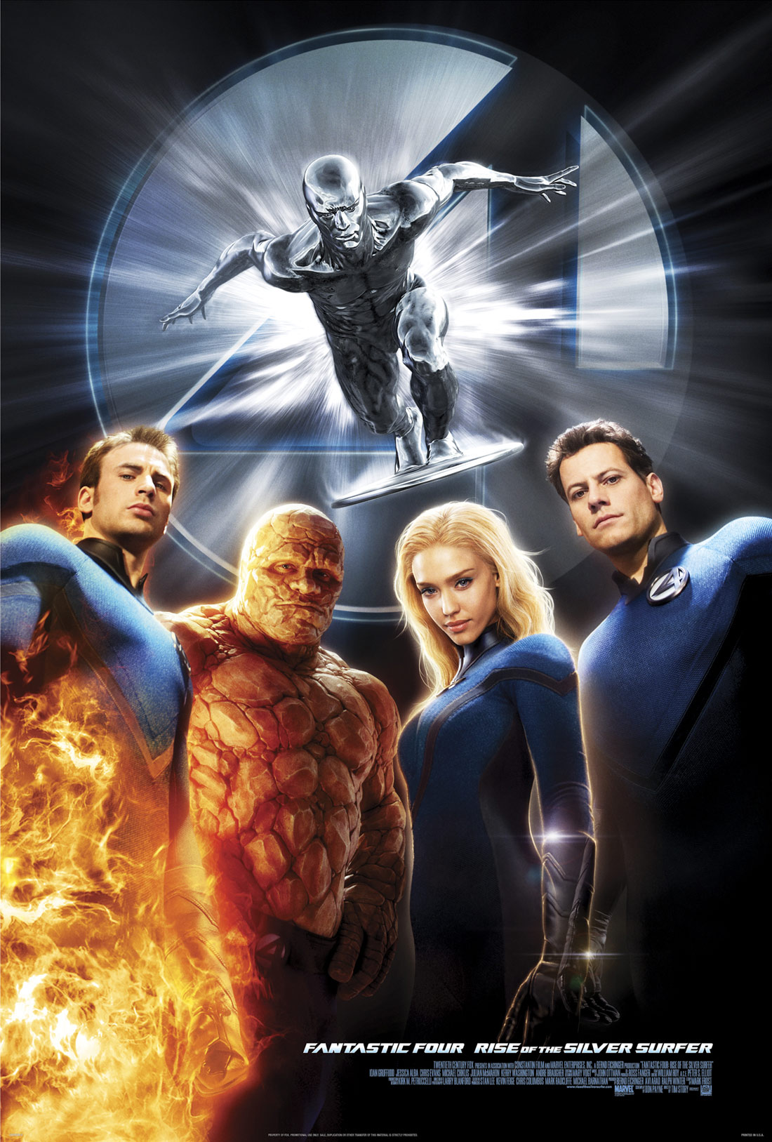 Fantastic Four The Rise of the Silver Surfer